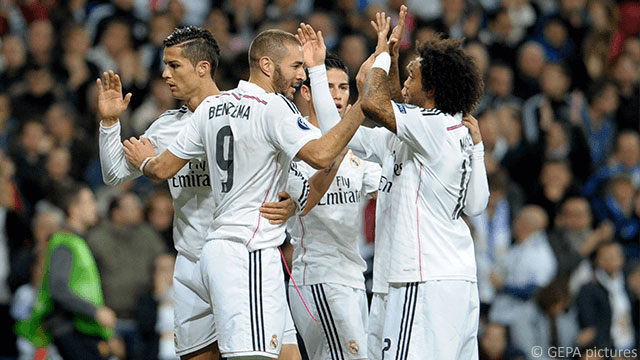 Ronaldo-Benzema-James-Marcelo-Archivbild
