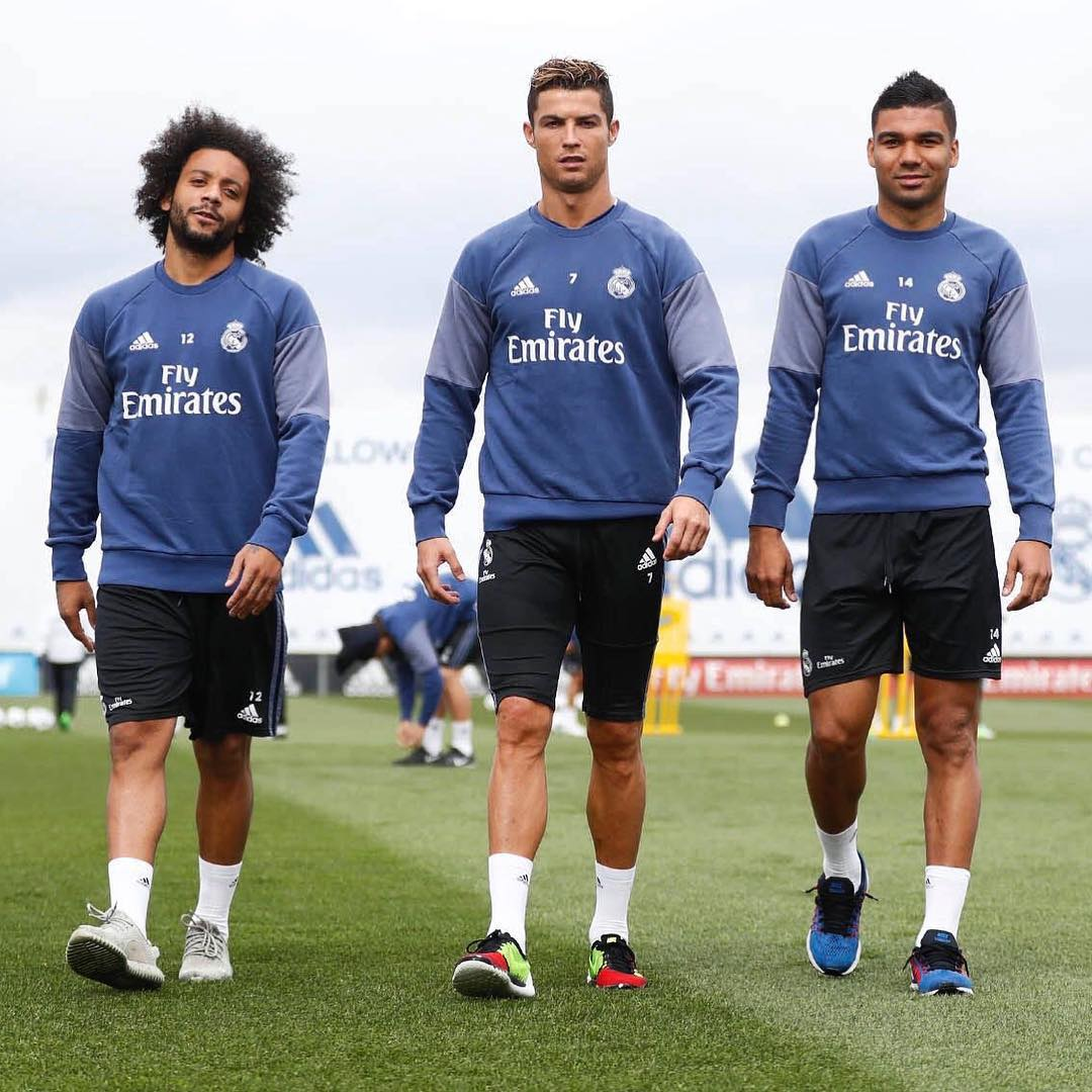 Training-Marcello-Ronaldo-Casemiro