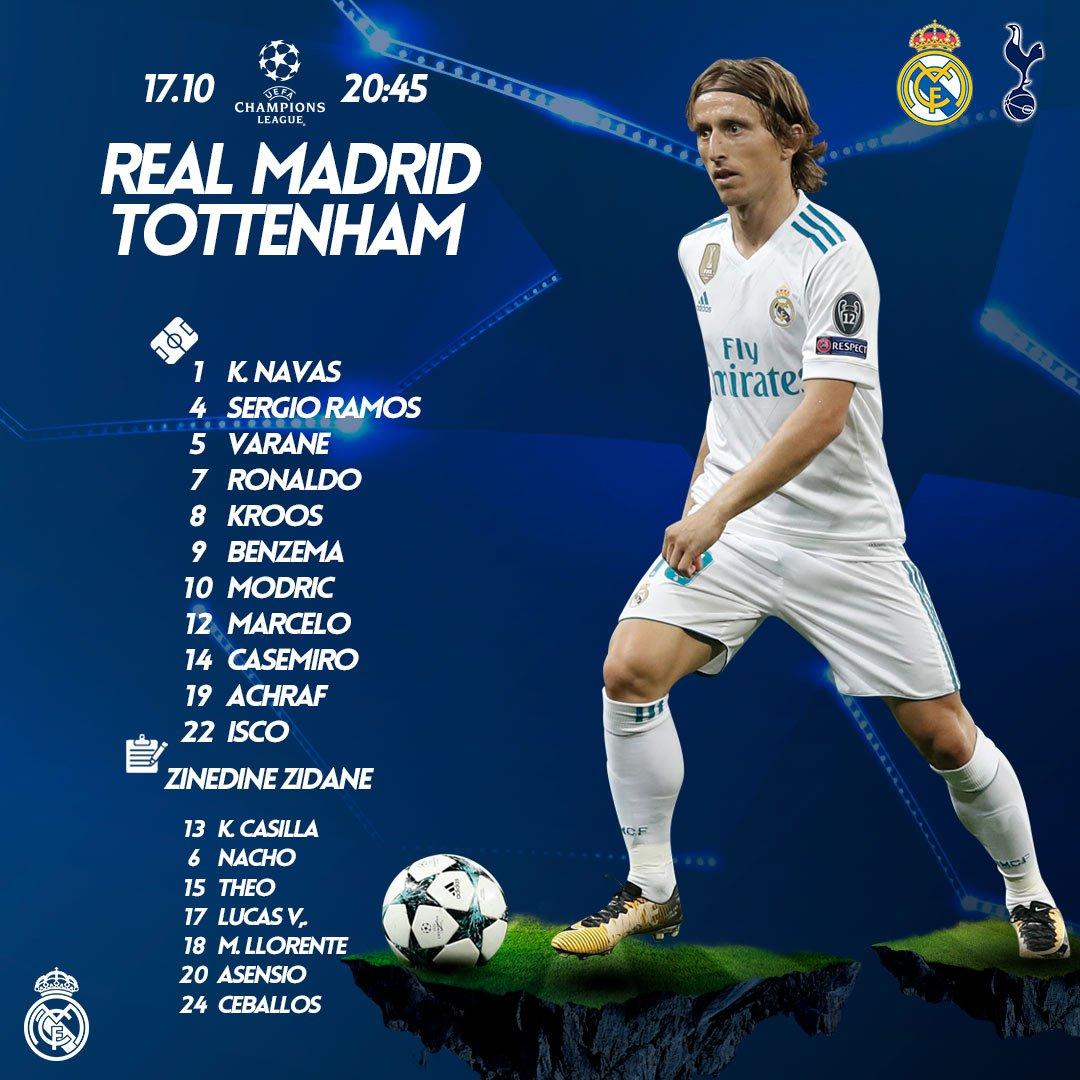 Tottenham 2 1 Psv Harry Kane Rescues Spurs Champions: Champions League 2017/18 Gruppenphase Real Madrid Fan